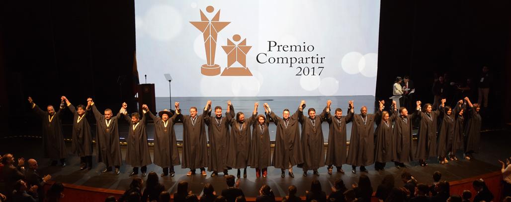 Ganadores Premio Compartir 2017