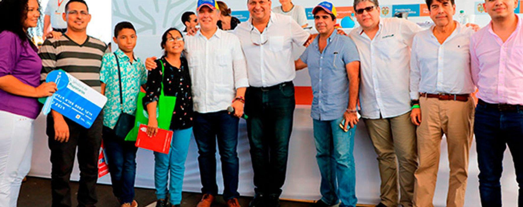 Atlántico celebra sus primeros beneficiarios subsidios de vivienda