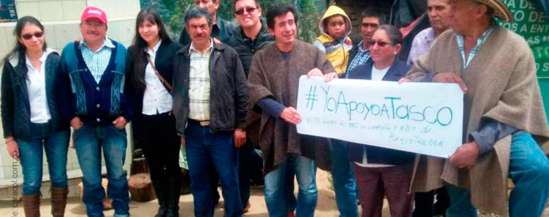 Campesinos impiden explotación de mina en Boyacá