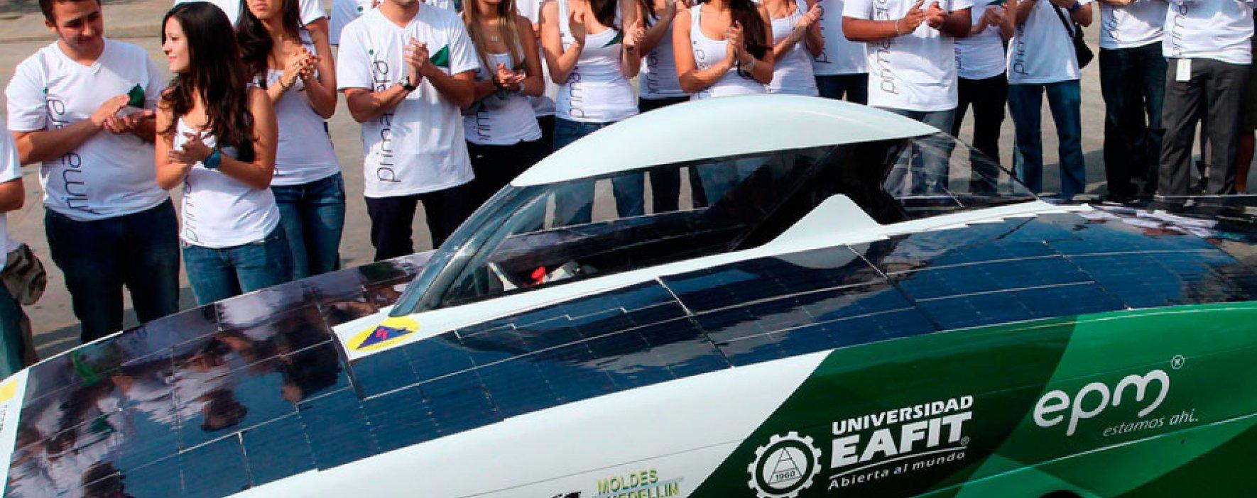Carros solares: solución a la vida cotidiana en Colombia