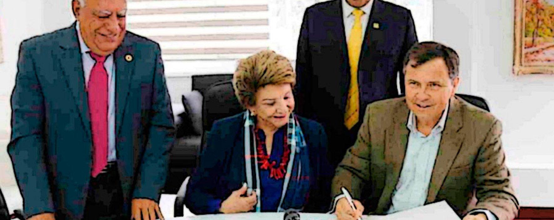 Centro de Estudios de la Orinoquia y Cruz Roja firman acuerdo de cooperación