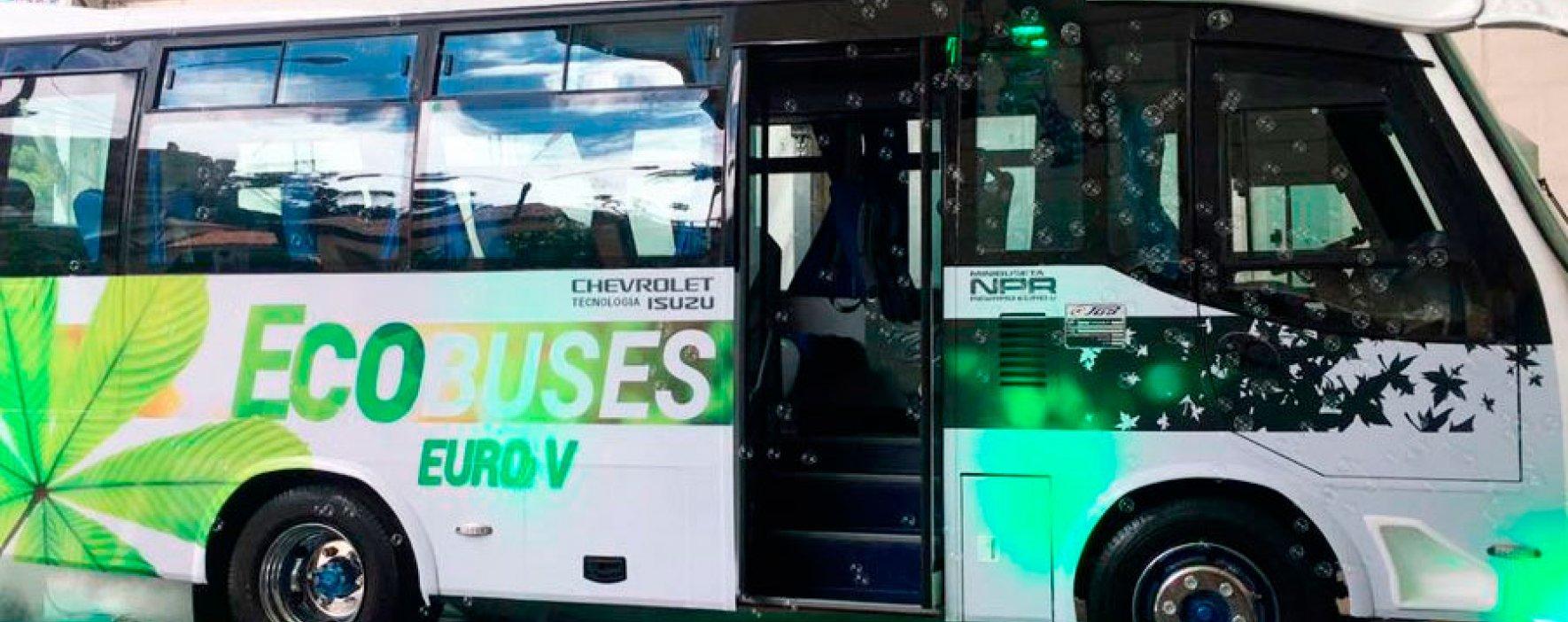 Chevrolet lanza Bus amigable con el medioambiente