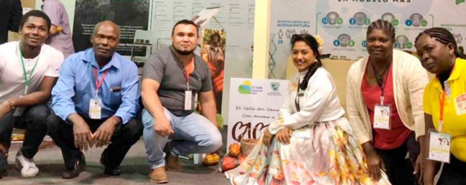 Chocoshow, la feria que reunió agronegocios apoyados por los Andes