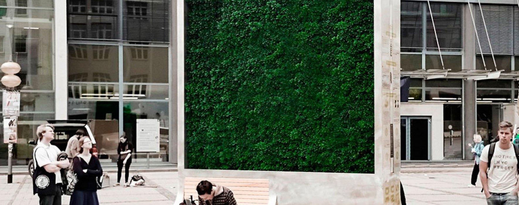 CityTree, el árbol artificial que absorbe la contaminación del aire