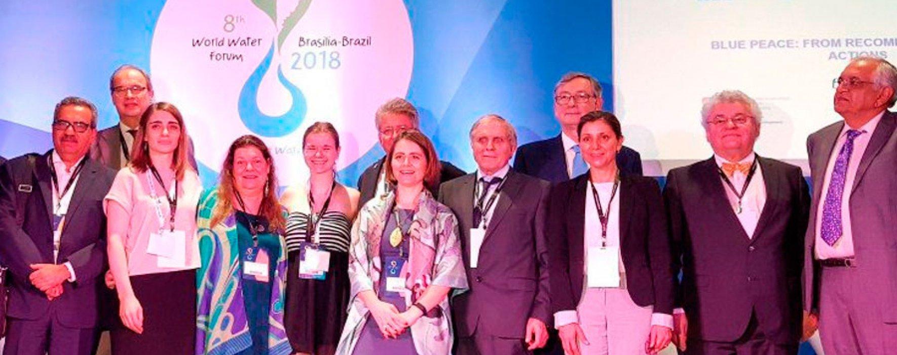 Colombia fue ejemplo en foro mundial de Agua y Paz en Brasil