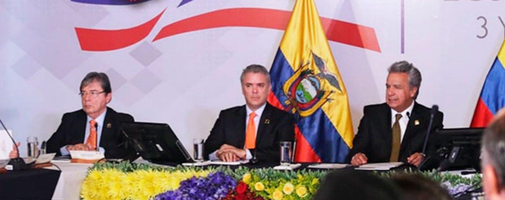 Colombia y Ecuador acuerdan cooperación para optimizar interconexión eléctrica binacional