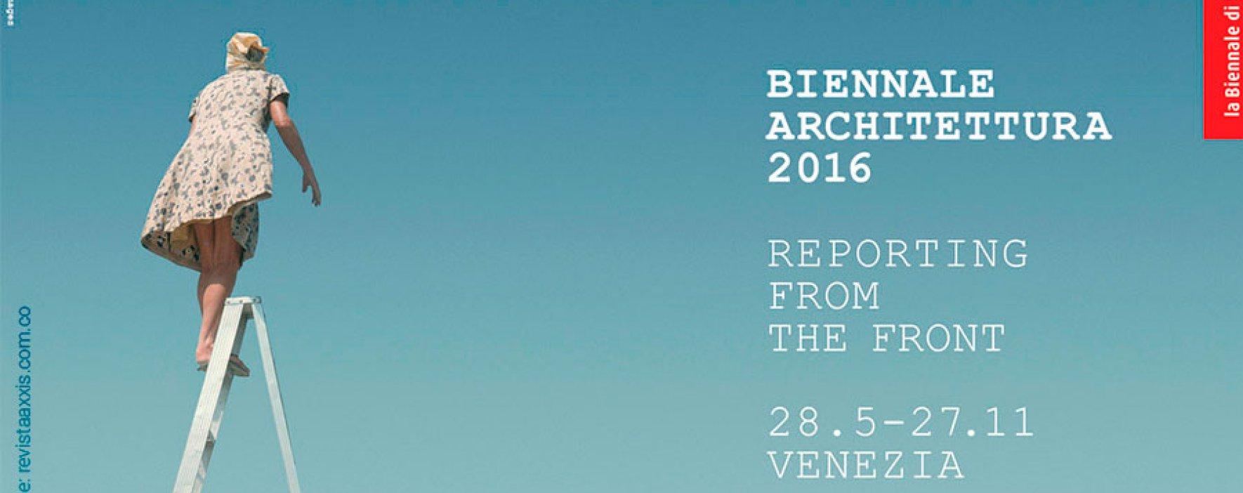 Colombianos en la Bienal de Arquitectura de Venecia 2016