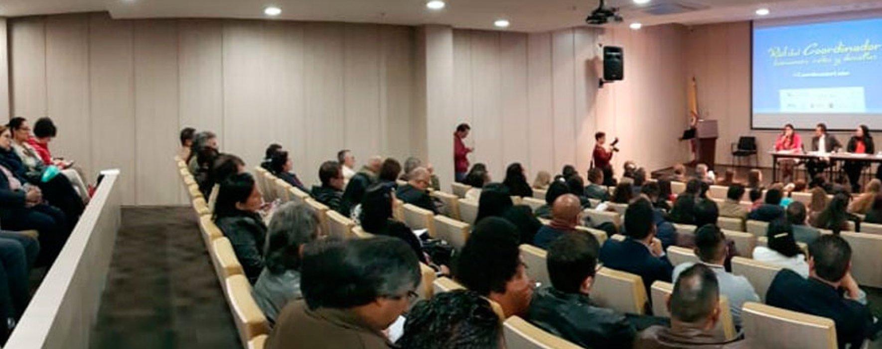 Con éxito se desarrolló el conversatorio 'Rol del Coordinador: tensiones, retos y desafíos'