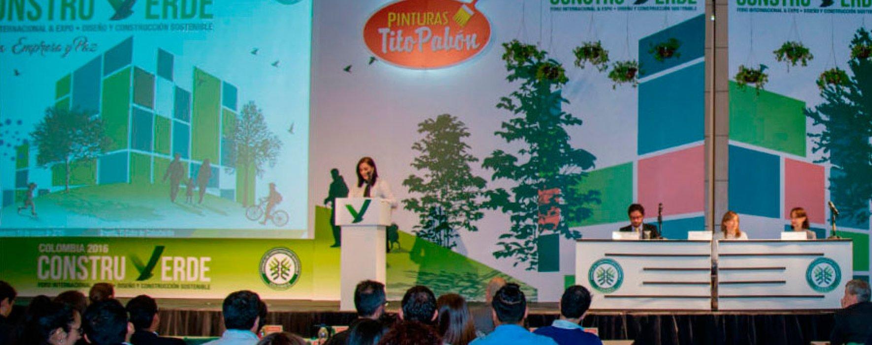 Desarrollo sostenible en Construverde 2017