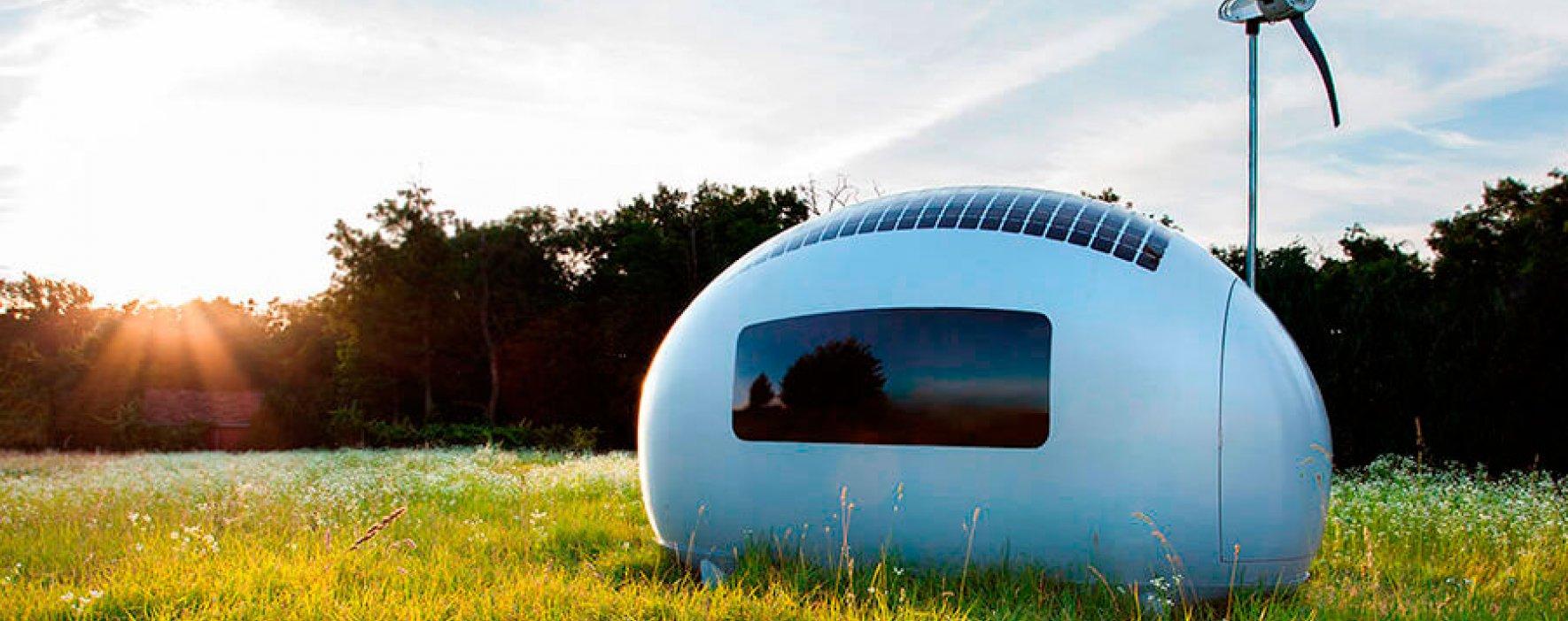 Ecocapsule: las viviendas del futuro