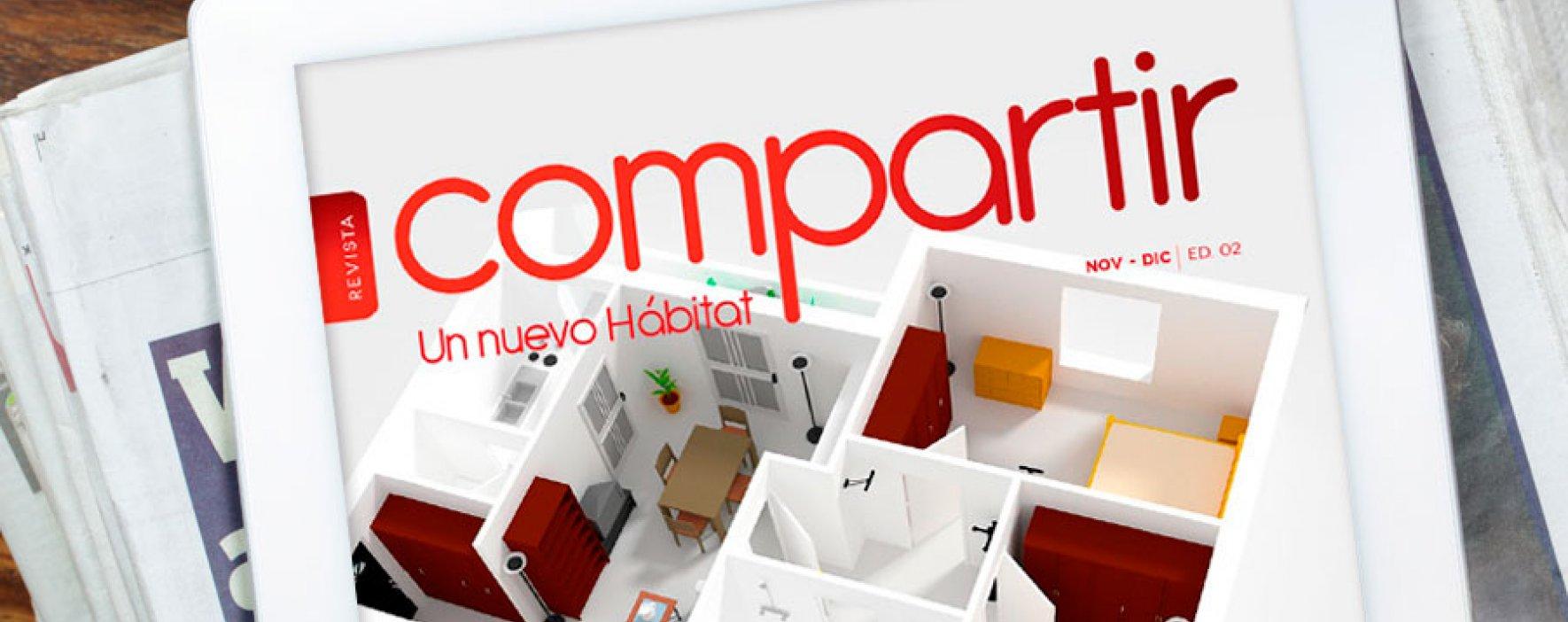 Edición n°2 de la revista Compartir, un nuevo Hábitat