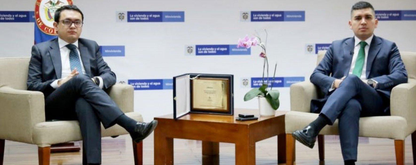 El MinVivienda recibió, desde Indonesia, el Pergamino de Honor de ONU-Hábitat
