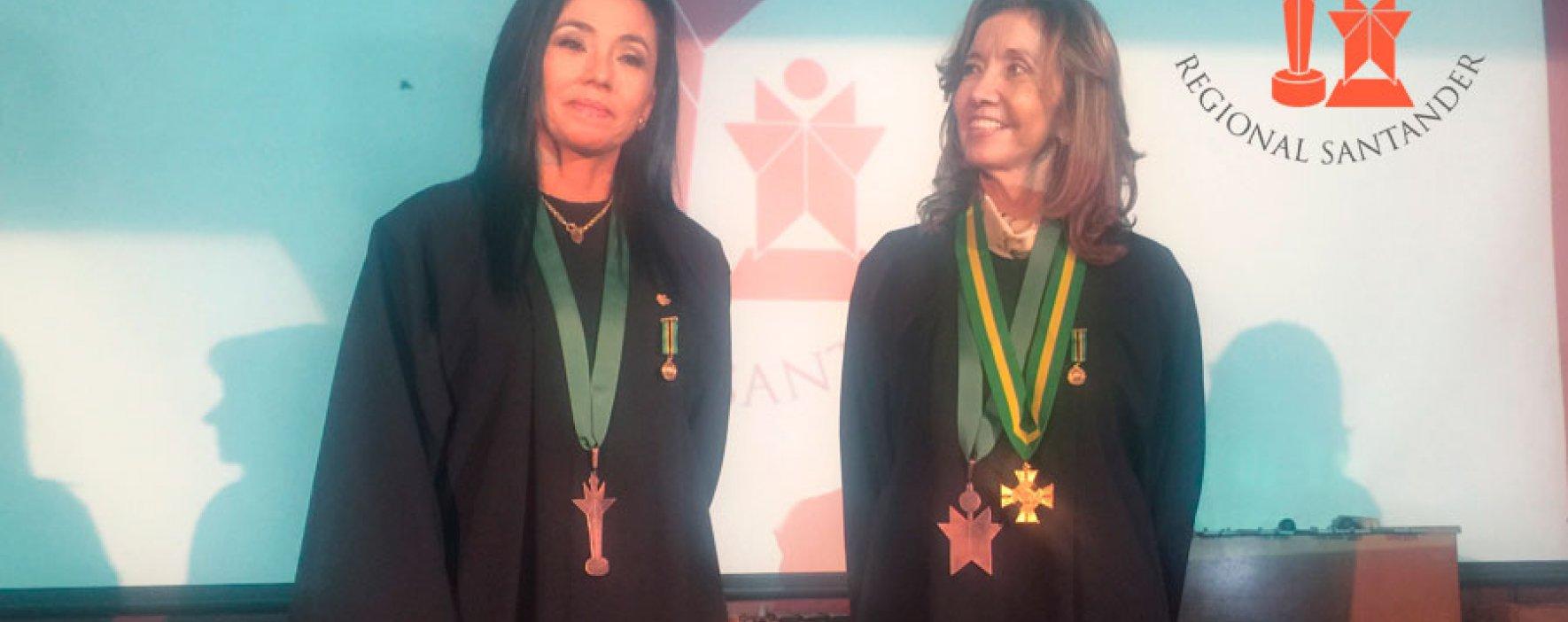 Emotiva ceremonia del Premio Compartir Regional Santander