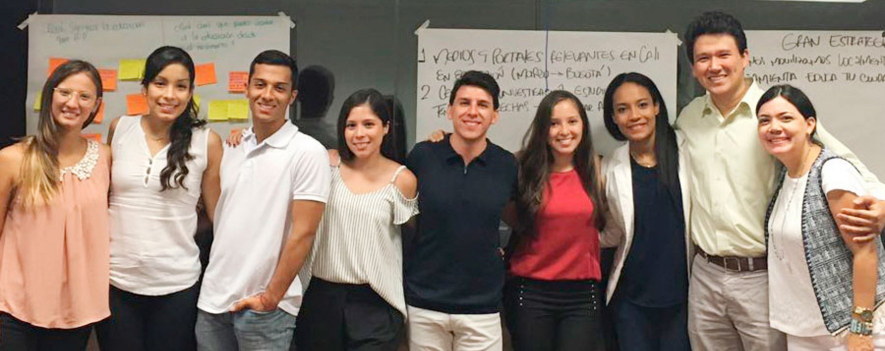 En Cali con los voluntarios de 'Todos por la Educación'