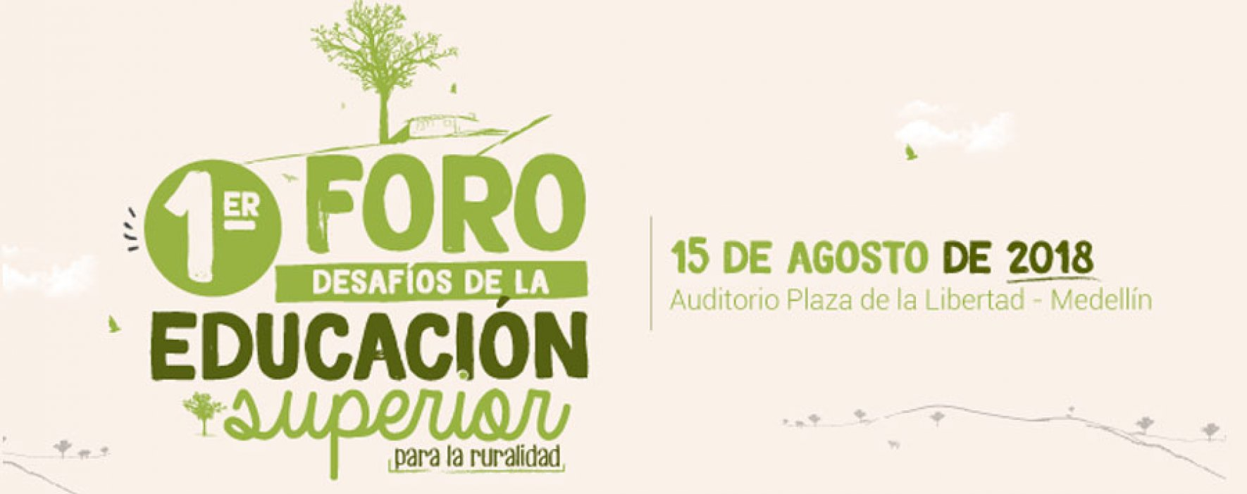En Medellín se realizará 1er Foro de Educación Superior Rural