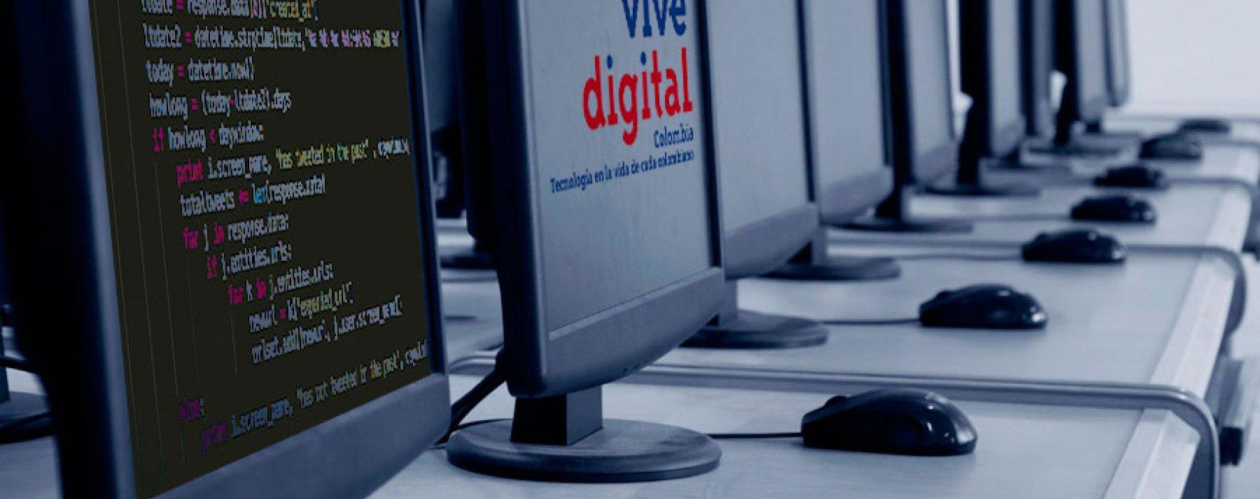 Estudie programación en los Puntos Vive Digital