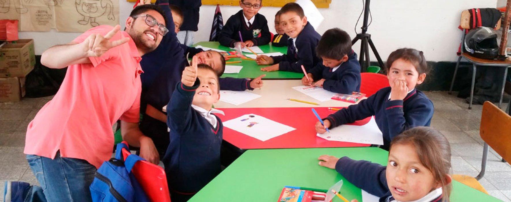 Fundación Compartir trabaja en Misión Cucunubá