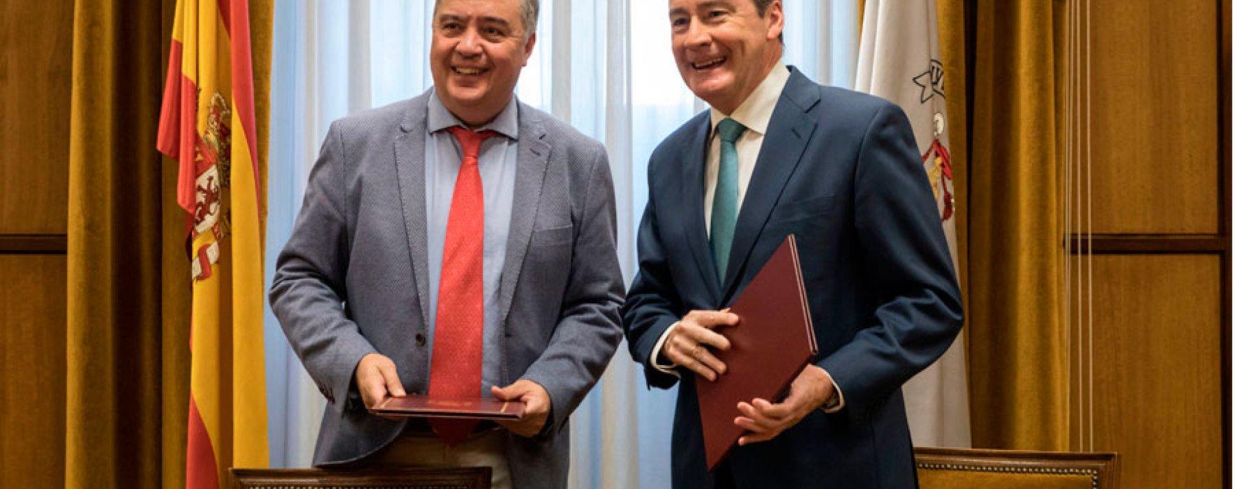 Fundación SM y Universidad de Alcalá firman acuerdo para divulgar Matemáticas Activas