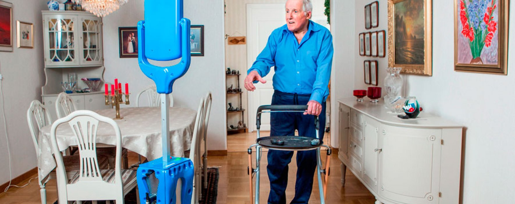 GiraffPlus, la nueva alternativa que ofrece teleasistencia a personas mayores