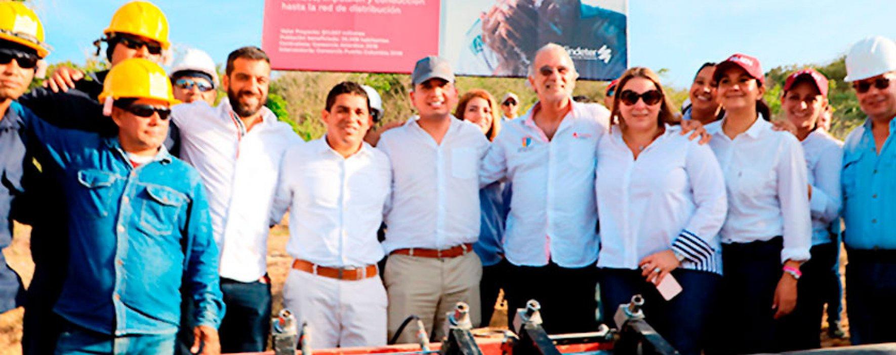 Inició construcción de tanque de agua potable en Puerto Colombia