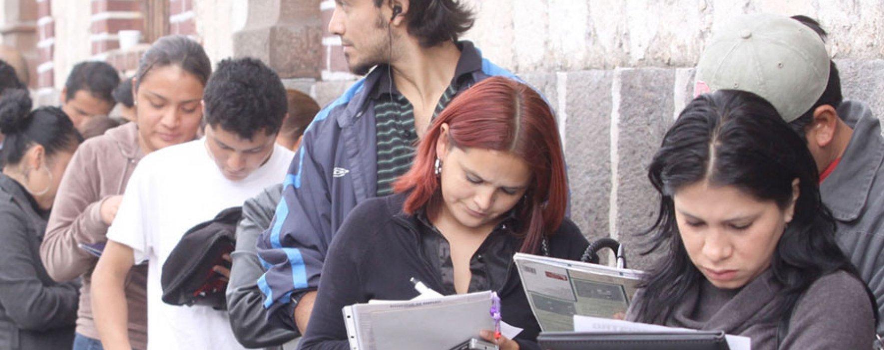 Jóvenes latinoamericanos: alto desempleo