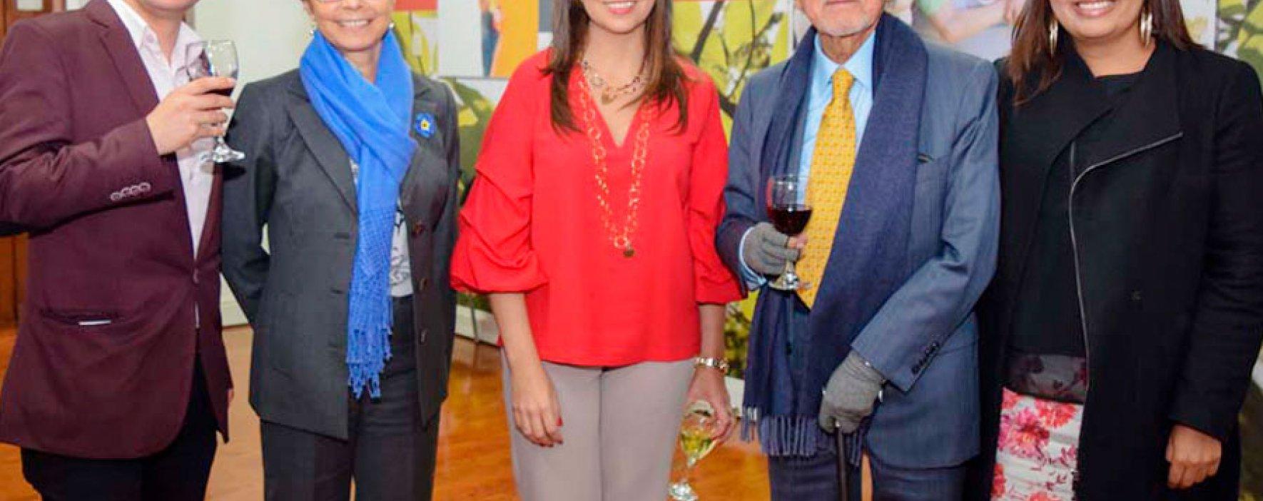 La Fundación Compartir celebró el viaje de Luis Bermúdez al Global Teacher Prize