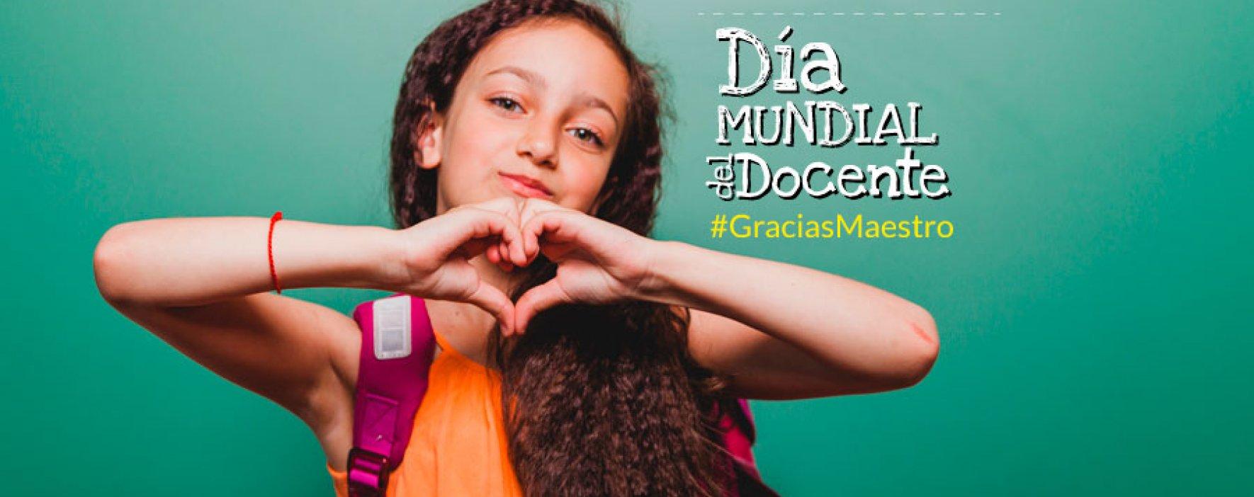 La Fundación Compartir conmemora el día Mundial de los Docentes