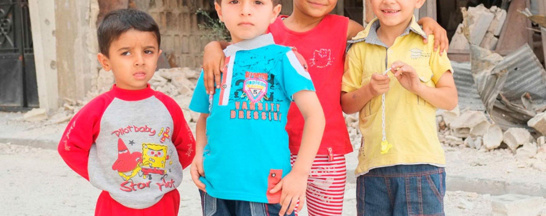 La ONU pide a la comunidad internacional 500 millones de dólares para educación de niños sirios refugiados