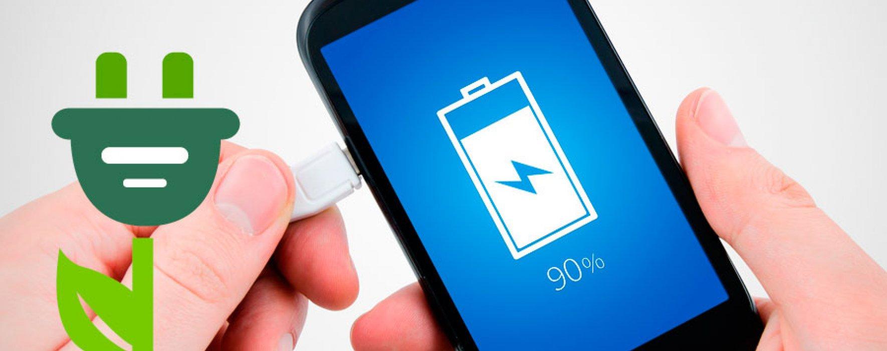 Materas que cargan la batería de un celular