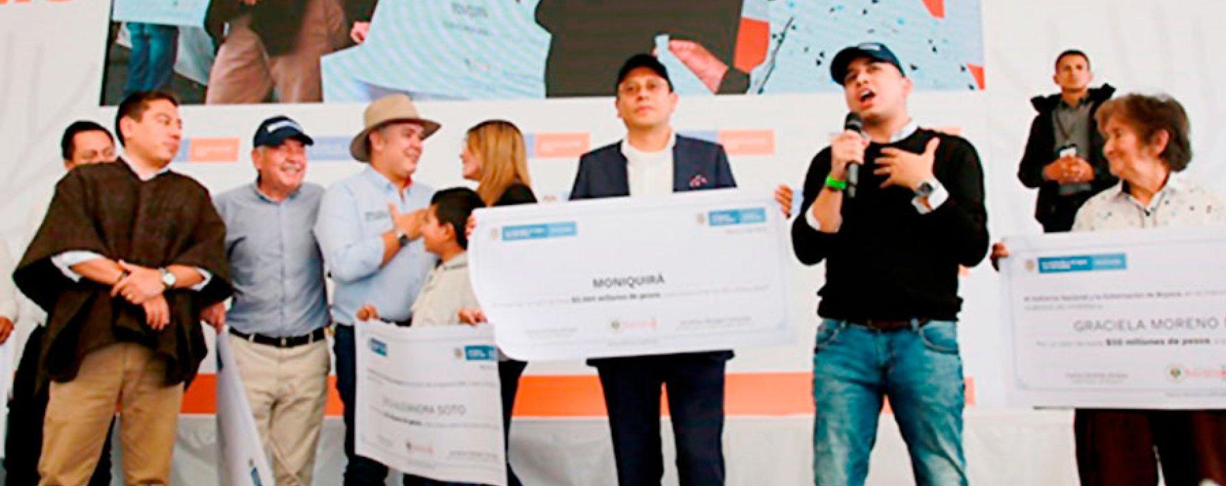 Minvivienda anunció grandes inversiones en vivienda y agua para Boyacá