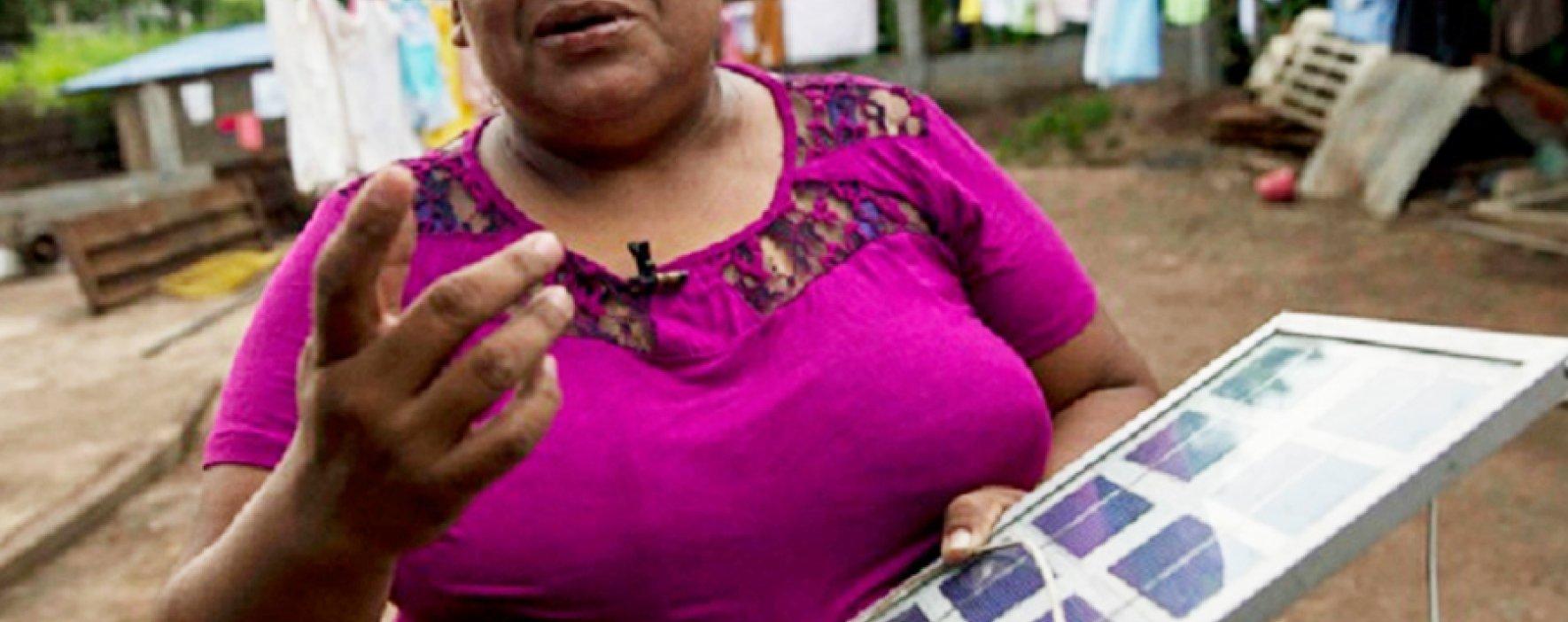 Mujeres en Nicaragua trabajan proyectos ecológicos