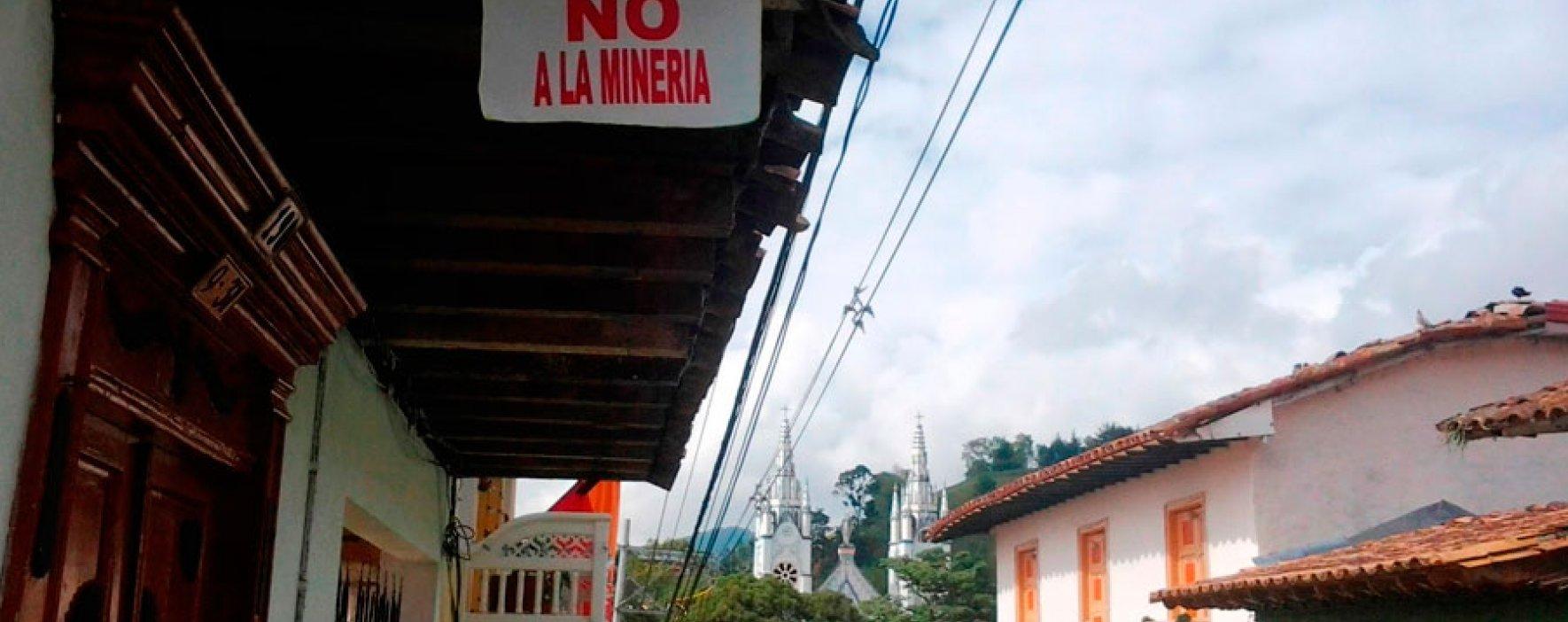 Municipios de Colombia dicen NO a la minería