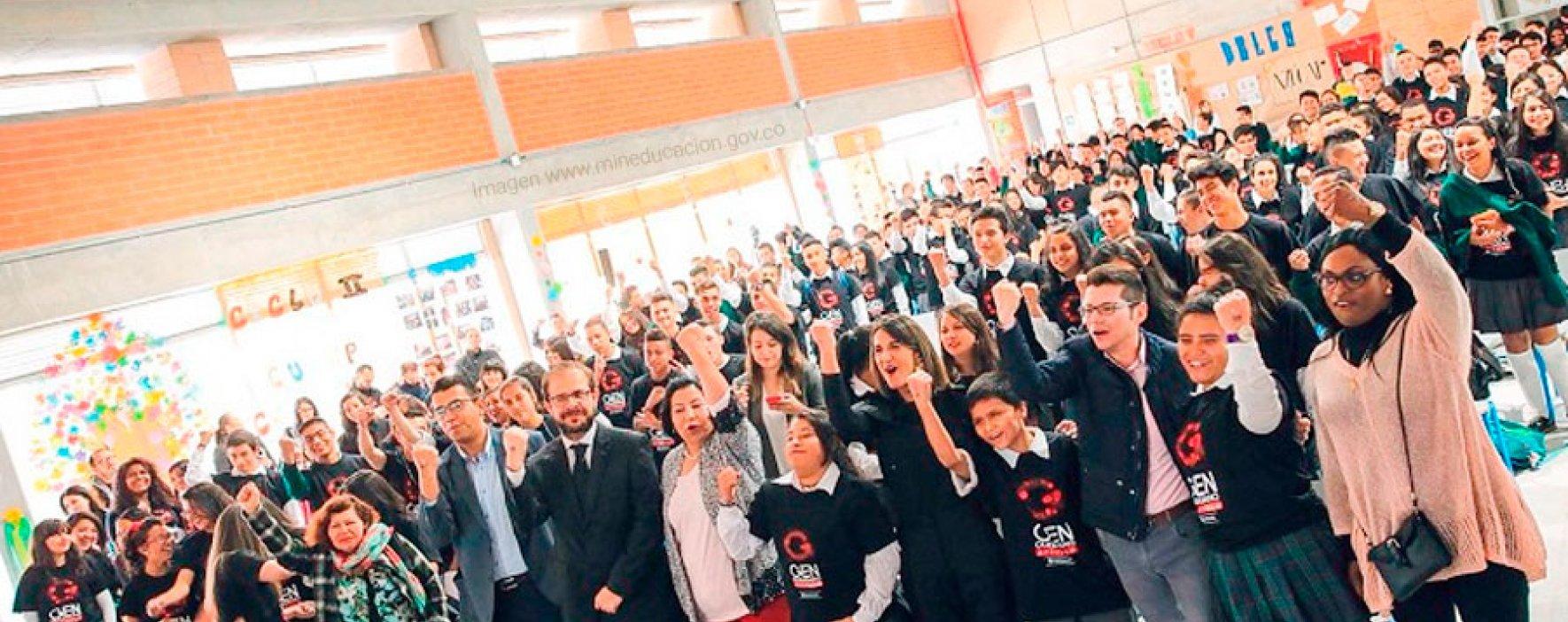 Nuestro Gran Maestro del Premio Compartir activó el Gen Ciudadano con el MinEducación