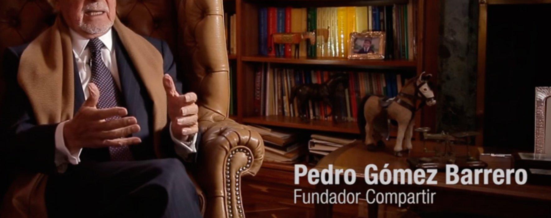 Pedro Gómez, un legado y un consejo a la nueva presidente de la Fundación Compartir