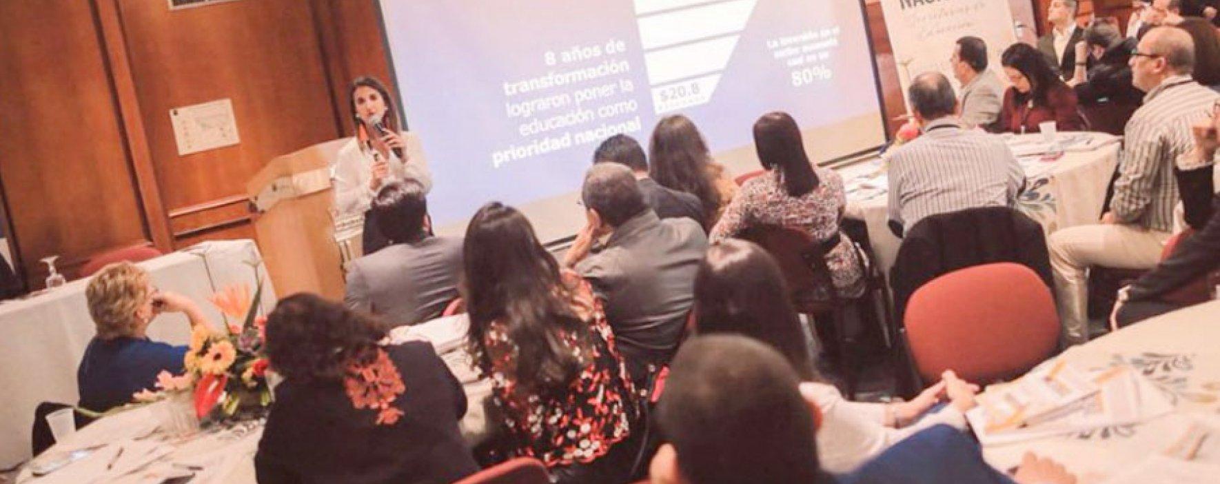 Premio Compartir recibe reconocimiento en Encuentro de Secretarios de Educación