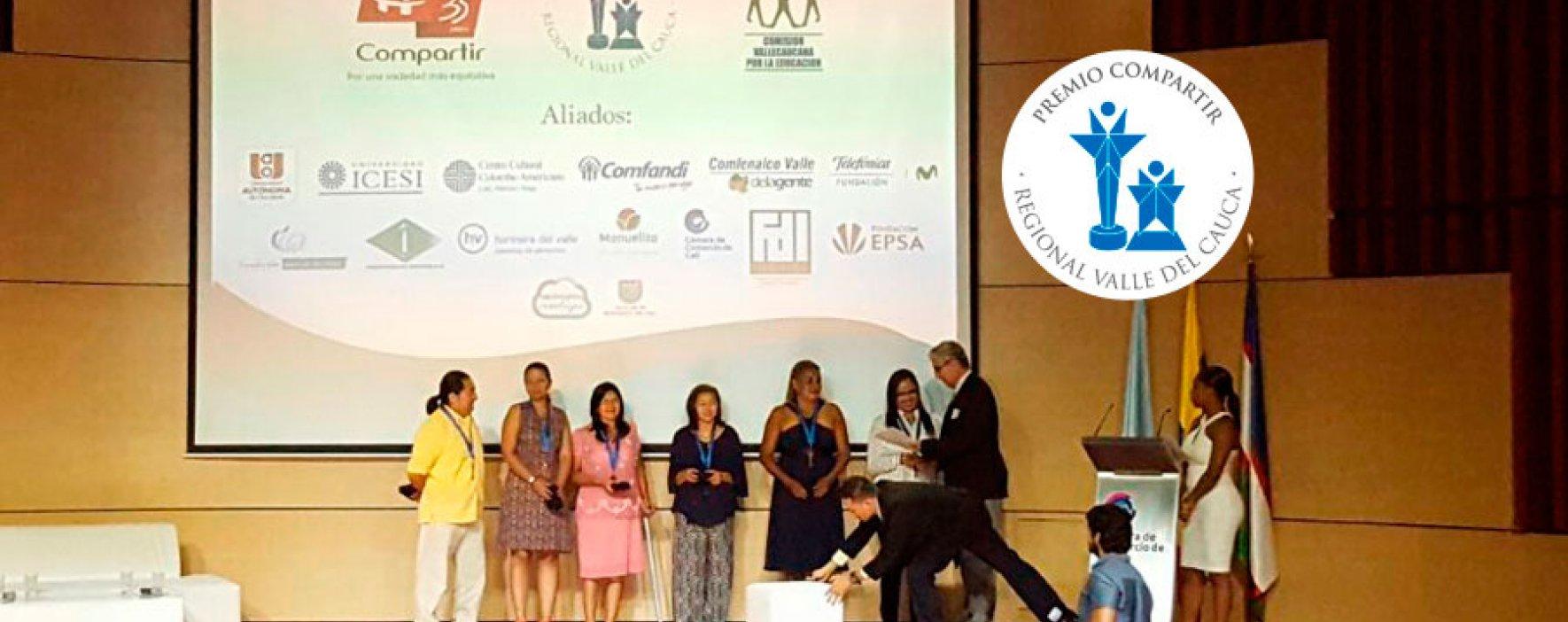 Premio Compartir reconoce a los mejores en Valle del Cauca