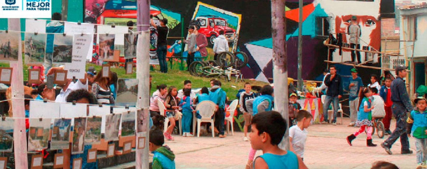 Proyecto HABITANDO 'Cultura en Comunidad' liderado por la Alcaldía de Bogotá