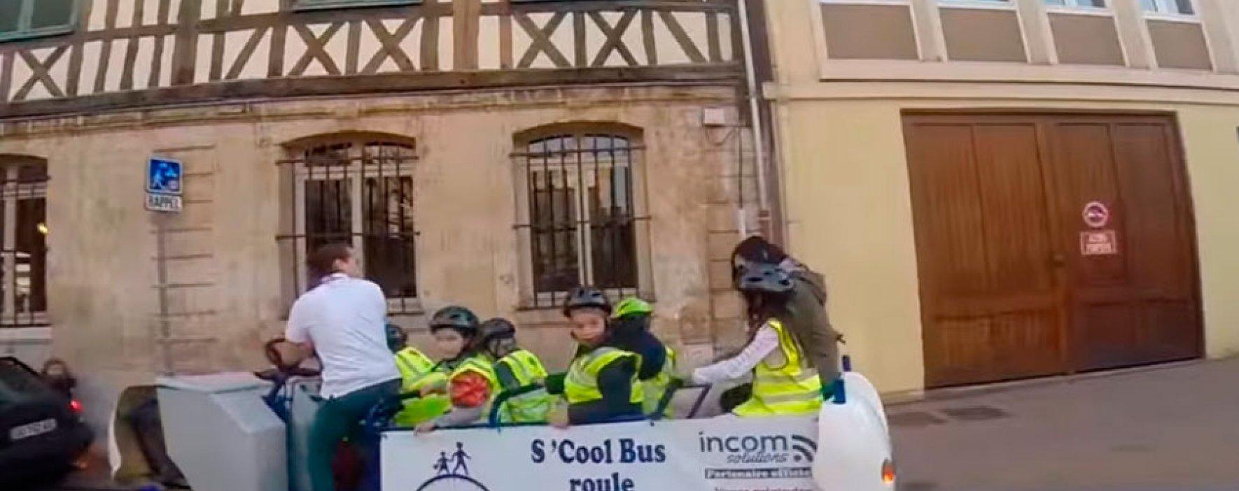 S'Cool Bus, la nueva forma de ir al colegio