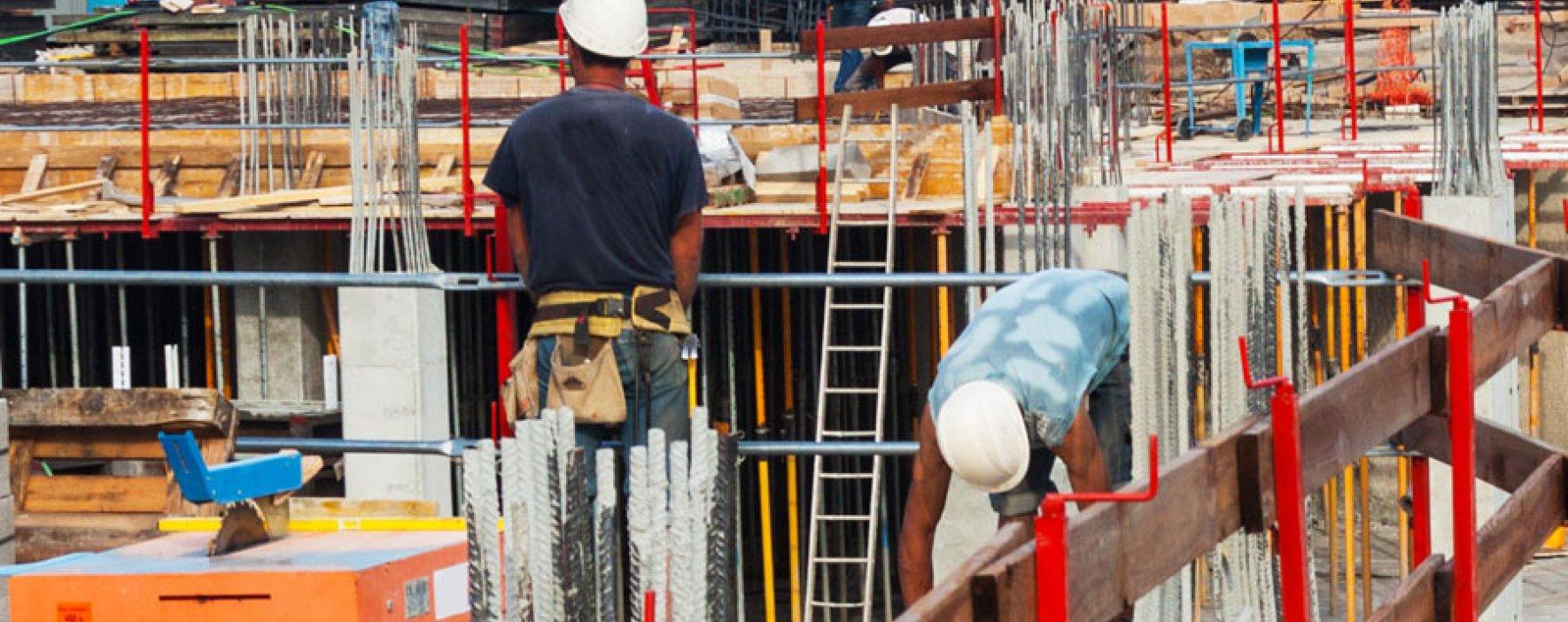 Sector de la construcción ocupa 1'351.000 personas