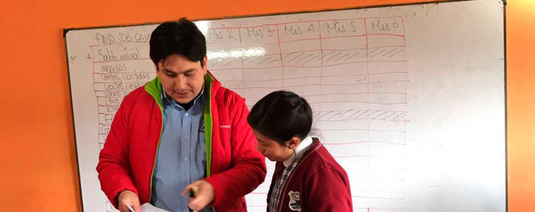 Taller de finanzas para colegios del Valle de Ubaté