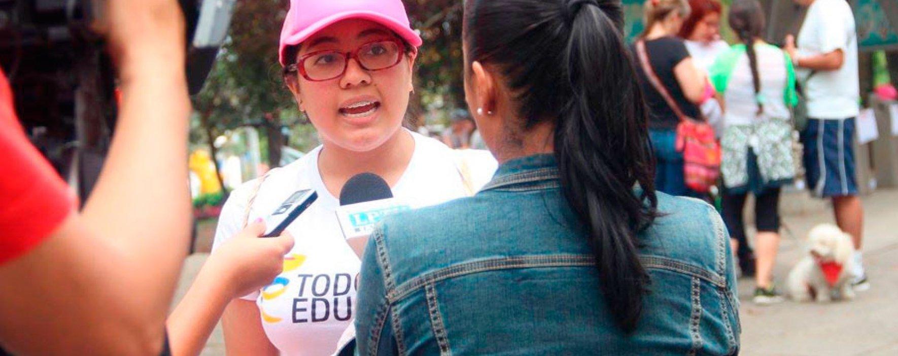 Todos por la Educación se tomó la ciclovía de Manizales