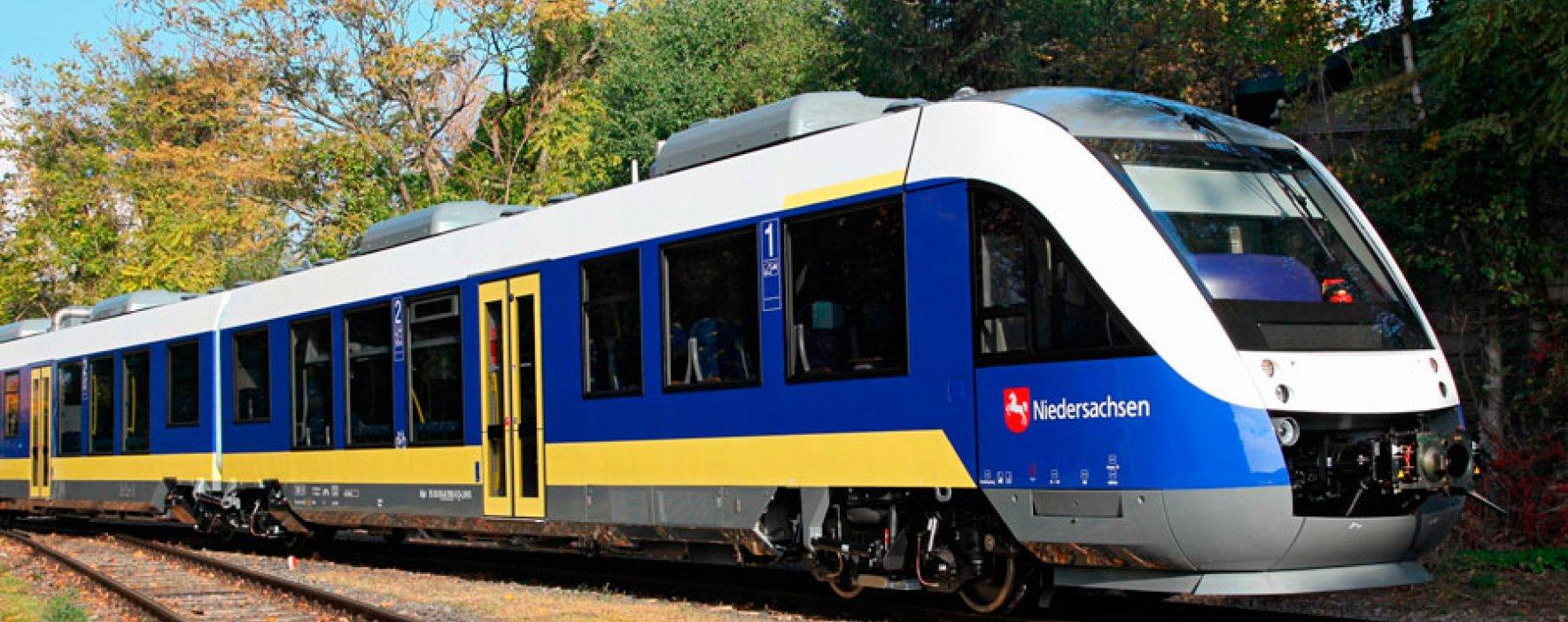 Tren movido con hidrógeno es pionero en el mundo