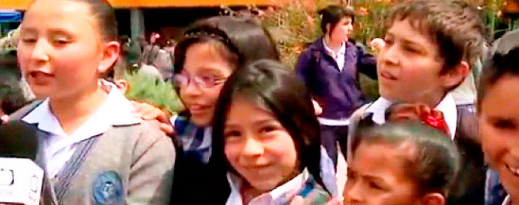Un proyecto escolar que alivia a los niños de Ciudad Bolívar