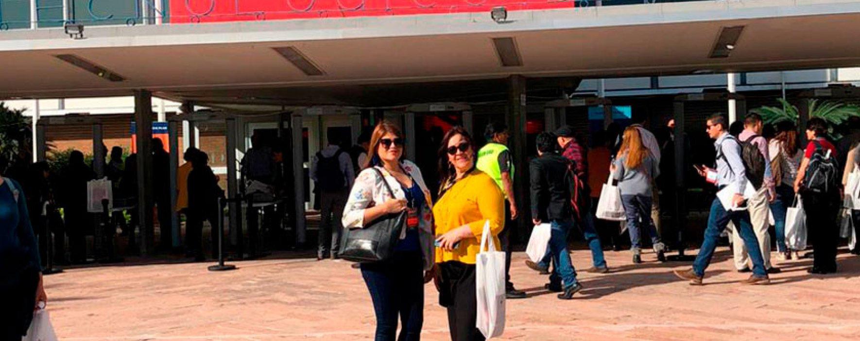 Una maestra y una rectora de Colombia presentes en el CIIE 2019