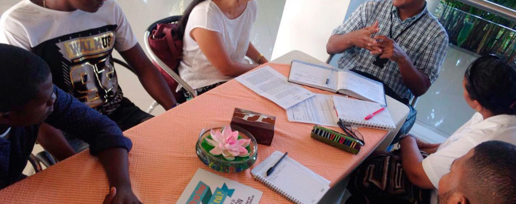 Los voluntarios de Todos por la Educación en Quibdó