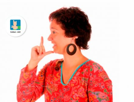 Aplicación que enseña lengua de señas