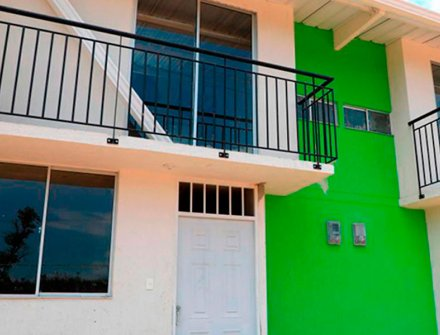 primeras 100 viviendas para los damnificados de Mocoa