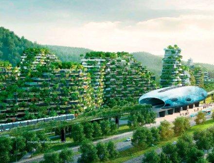Ciudad verde en China que lucha contra el cambio climático
