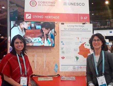 Colombia, modelo de innovación en políticas de patrimonio cultural inmaterial en París