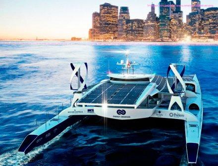 Combustible alternativo moverá barco por todo el mundo